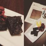 Raw čokoládové brownies