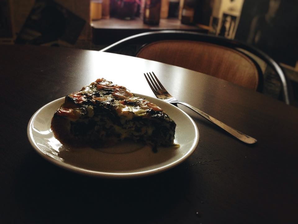 špenátový quiche