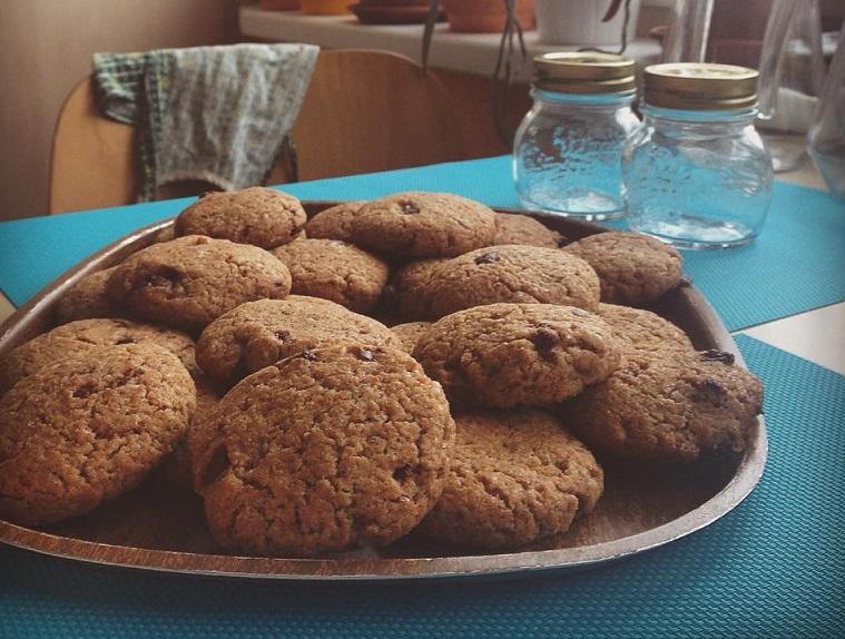 veganské cookies