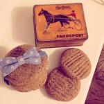 Veganské cookies sušenky s arašídovým máslem