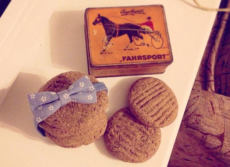 cookies s arašídovým máslem