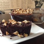 Vegan bezlepkové brownies