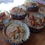 Slané špaldové muffiny se šunkou a sýrem