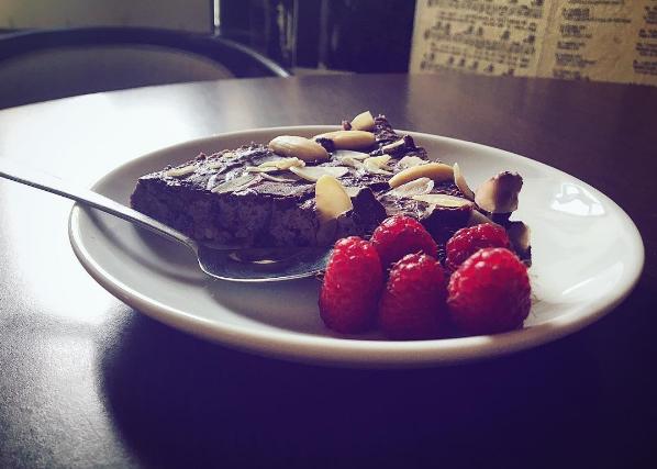 boruvkovy raw dort