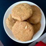 Bezlepkové arašídové cookies