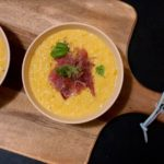 Kukuřičný krém se smetanou a chilli